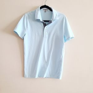 💐3/$15 Express Light Blue Cotton Polo Top M